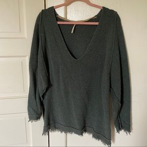 Free People Fringe Sweater